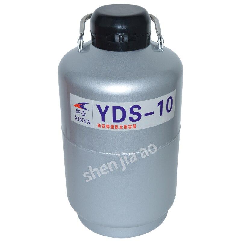 YDS-10 Haute Qualité Liquide contenant l'azote Cryogénique Réservoir Dewar avec Bretelles 10L