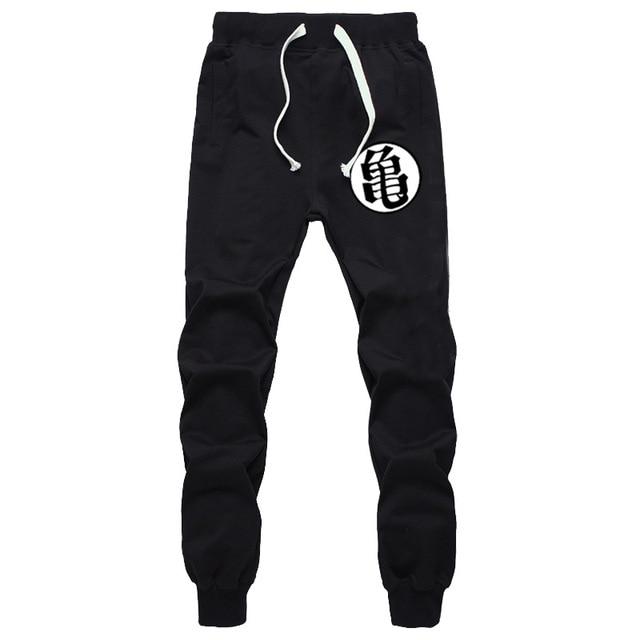 Casual Funny Print Dragon Ball Goku Mens Pants Cotton Autumn Winter Gray Men Joggers Sweatpants Plus Size Black Trouser pantalon 1