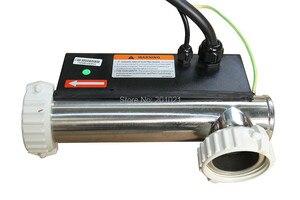 Image 2 - Китайский спа нагреватель 3 кВт l образная модель H30 R2 LX flow type hot tub спа