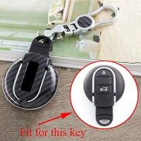 2/3/4 tasten Key Fob Fit Für Mini F54 F55 F56 F57 F60 Zubehör Smart Key Shell fall Halter Tasche Box Abdeckung Carbon Fiber Teile|Schlüsseletui für Auto|Kraftfahrzeuge und Motorräder -