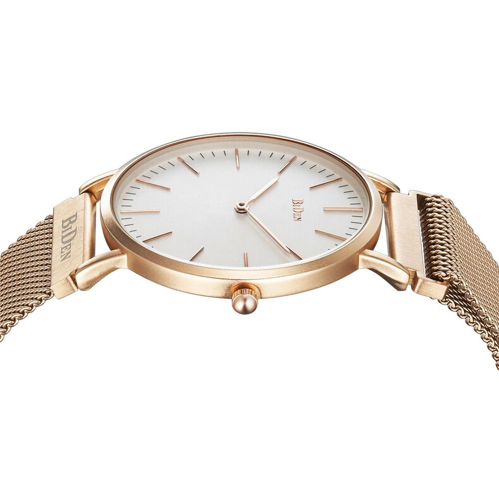 BIDEN Top Brand Luxury Mens Watch Quartz For Men Watches Classic Sport Fashion Clock minimalist Simple Wrist Relogio Masculino in Quartz Watches from Watches