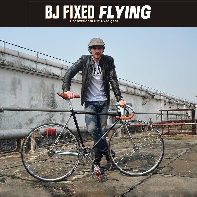 700C Fixie Bike Track Single Speed Bike  54cm  56cm 58cm 60cm Fixed Gear Bike 4130 Chrome-molybdenum Steel Vintage Bike  Frame