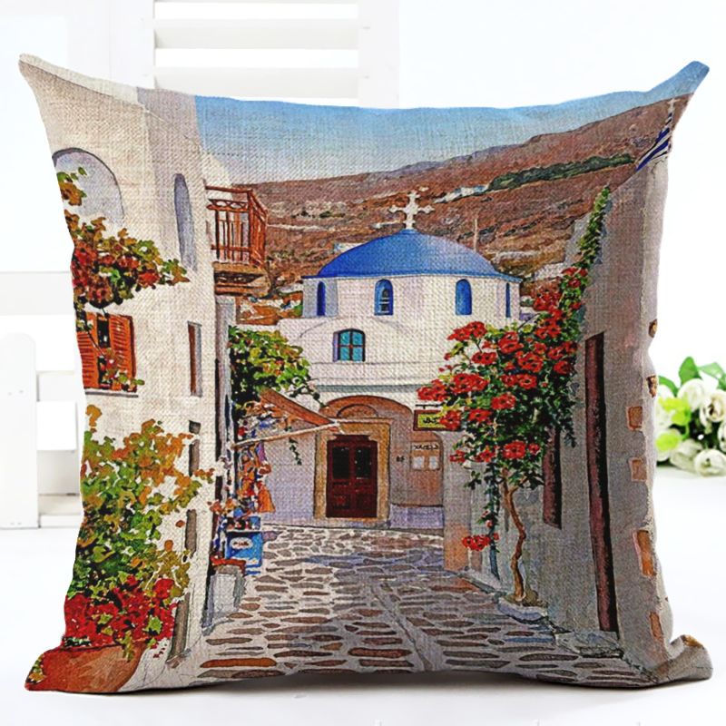 2016 Hot Selling American Town Home Decorative Sofa Cushion Throw - Home Textile - Photo 2