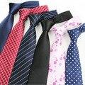 8 см Мужские Деловые Костюмы галстук Свадьба случайный Шеи Галстуки Платье Аксессуары плед полосатый диагонали цветок галстуки для мужчин