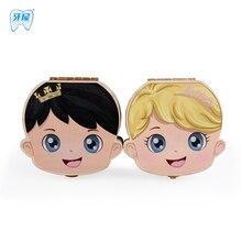 Baby milk Teeth box Wood storage box great gifts 3 6YEARS creative kids Boy and Girl