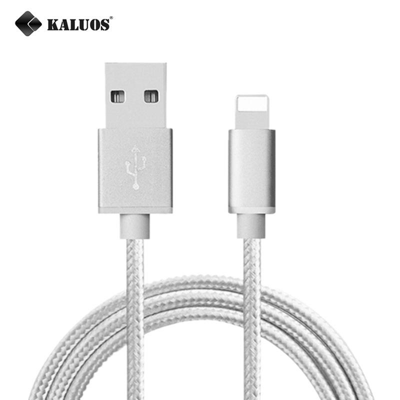 KALUOS 0.2m 1m 1.5m 2m 3m Ultra Long High Speed Phone Charger USB Data Sync Charge Cable For iPhone 5 5S 5C 6 6S 7 7S Plus SE 8