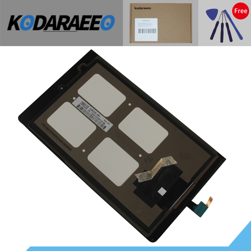kodaraeeo Touch Screen Digitizer Glass Panel+LCD Display Assembly Replacement Part For Lenovo Yoga Tablet 8 B6000 60044 kodaraeeo touch screen digitizer glass panel with lcd display assembly part for asus transformer mini t102ha replacement