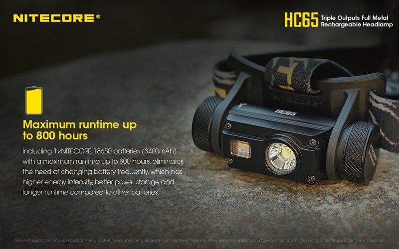 Nitecore HC65 1000 Lumens Rechargeable Headlamp (15)