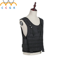 CCGK 2017 nij-iia.20 layers Aramid Bullet Proof Vest Military Army Tactical gear 9mm 8g 341/s FMJ RN Body Armor Bulletproof Vest