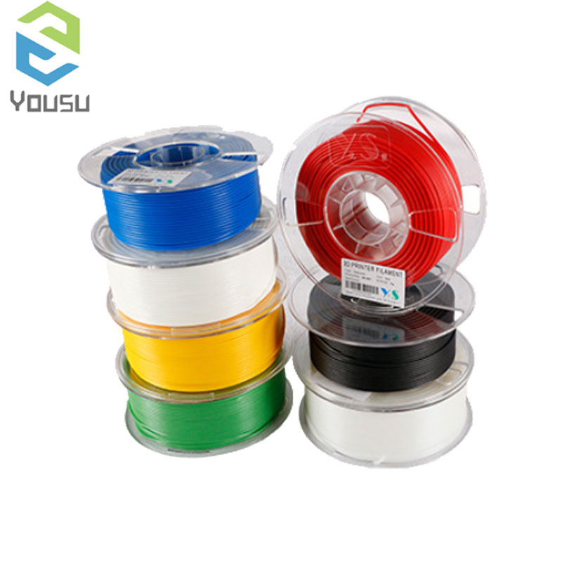 TPLA/PLA/CARBON/TABS/ABS Filament 1kg YOUSU Top Quality Brand 3D Printer Filament 1.75 Metal Plastic Filament Materials for RU image