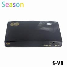 Original S-V8 S V8 HD ayuda del receptor de satélite 2 xUSB USB Wifi WEB TV Cccamd Newcamd YouTube YouPorn pronóstico del tiempo V8