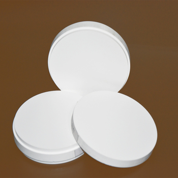 3 Pieces of OD98*18/20/22/25mm Wieland System HT ST CAD/CAM Dental Zirconia Ceramic Blocks for Making Porcelain Teeth HT-ST