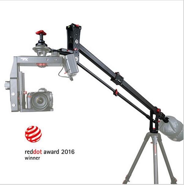 IFootage M1-III углеродного волокна Мини Профессиональный Портативный Dslr видео стрела для штатива Arm 15 кг полезной нагрузки [2016 reddot лауреат премии]