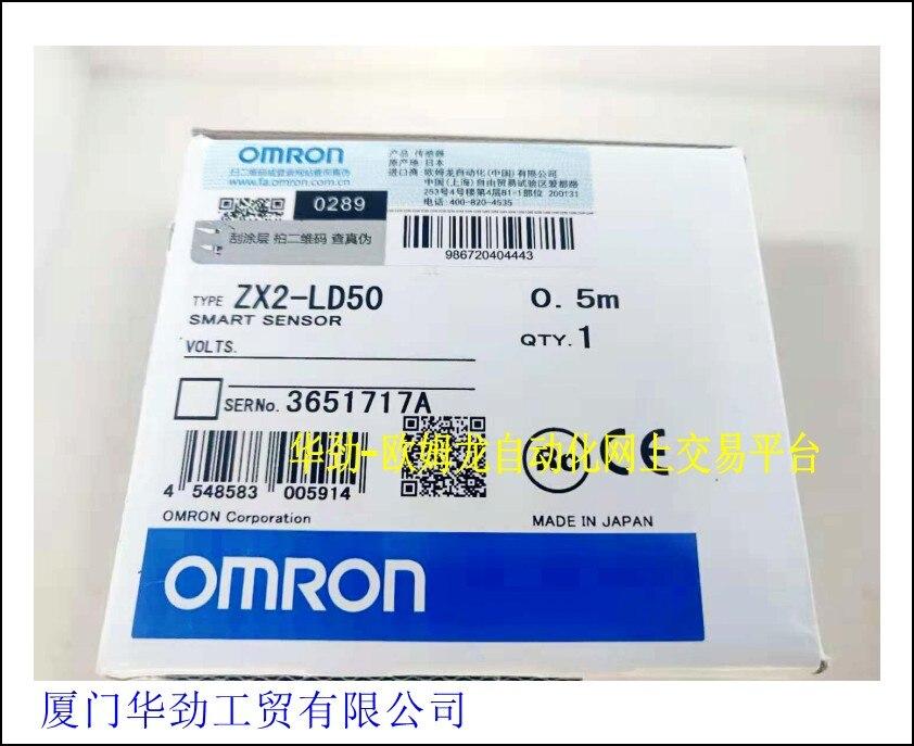 OMRON laser intelligent sensor ZX2-LD50 0.5M original stockOMRON laser intelligent sensor ZX2-LD50 0.5M original stock