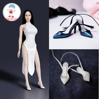 1/6 Scale Female Action Figure High heel Shoes Model for 12 inches Women Dolls Accessories