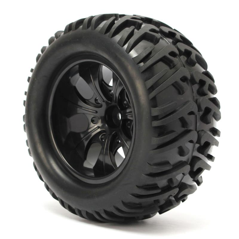 4PCS 1//10 Scale RC Speed Drift Racing Car Tires /& Wheel Rim For HSP HPI DHG