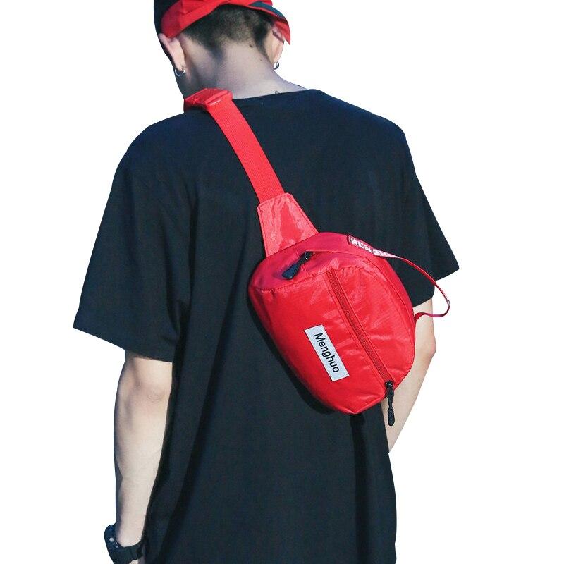2018 New Fashion Women Leisure Fanny Waist Pack Men Belt Handbags Female Crossbody Handbag Unisex Chest pack Nylon Waist bag