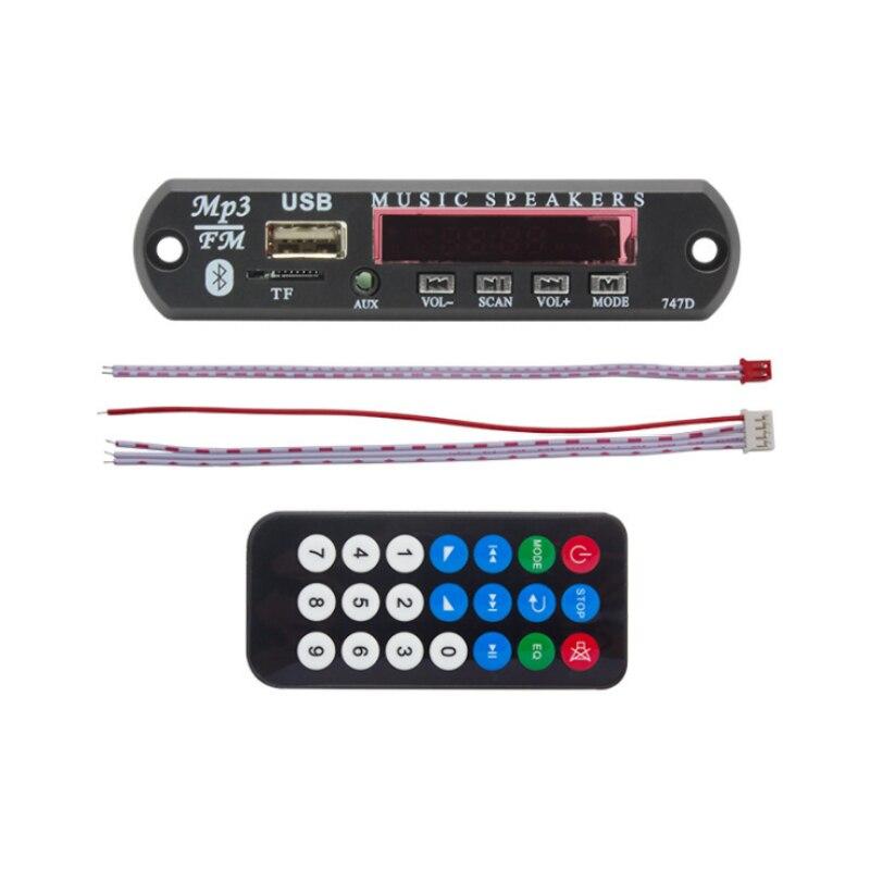 Unterhaltungselektronik Elistooop Wireless Remote Musik Lautsprecher Usb Mp3 Decoder Decodierung Bord Audio Modul Logic Ics Für Auto Fernbedienung Musik Lautsprecher Telefon Fabriken Und Minen Mp3-player