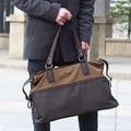 New 2015 Fashion Men Handbag Soft Canvas Large Capacity Men Messenger Vintage Bags Men's Travel Bags Men's Briefcase