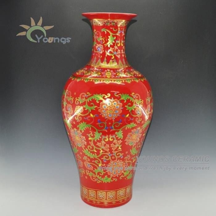 Gold Vase Decor