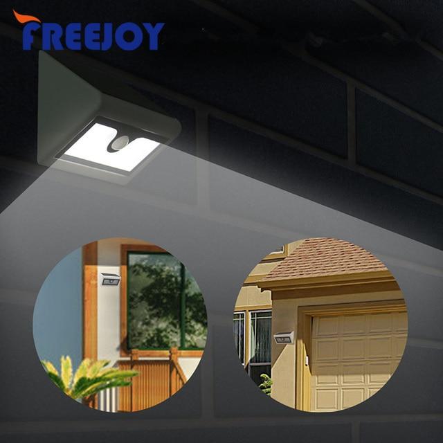 Good FREEJOY Outdoor 600LM 50 LED Solar PIR Bewegungssensor Garten Hof Wand  Licht Super Helle Garage Sicherheit