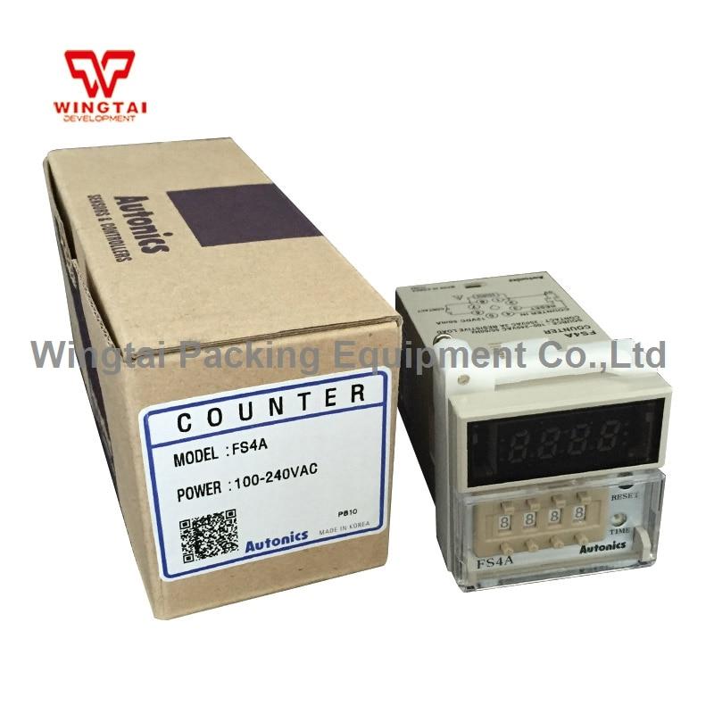 цена на FS4A digital counter display 8 PIN plug connection type Korea AUTONICS Counter