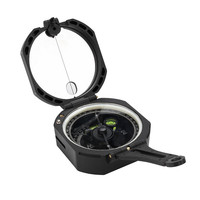 Outdoor Hiking Camping Professional Geology Compass Military Army Tactical Compass Level Sighting Luminous Compass Bussola 30