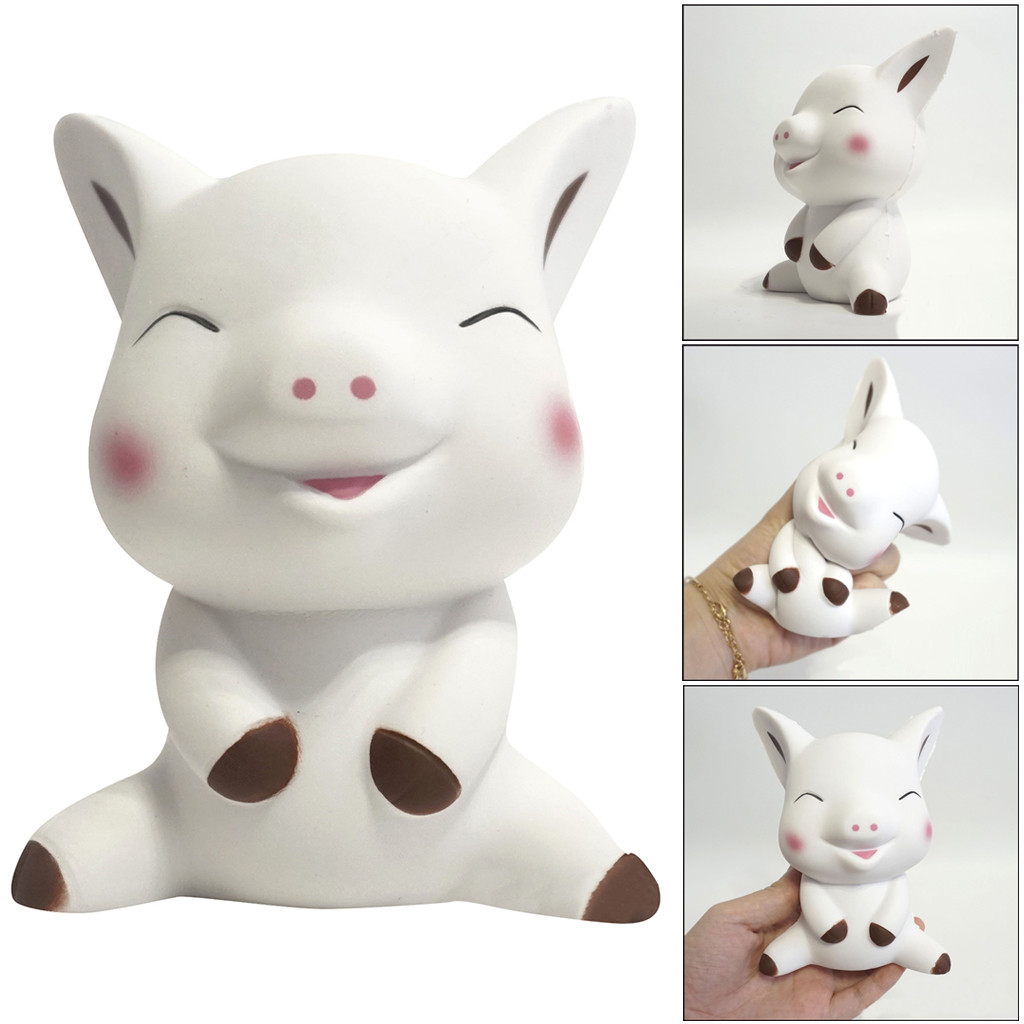 Funny Squeeze Pig Cream Bread Scented Slow Rising Toys Phone Charm Gifts Toy Squishi Gift For Baby Kid W516