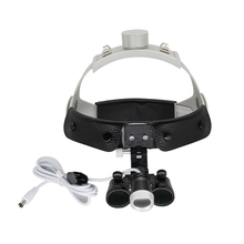 2.5X/3.5X Dental Surgical Loupe Magnifier Optical Dentist Binocular Magnifying Surgery Loupe with LED Light недорго, оригинальная цена