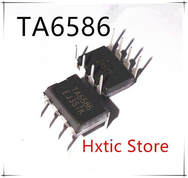 NEW 10PCS/LOT TA6586 6586 DIP-8 Motor Driver IC