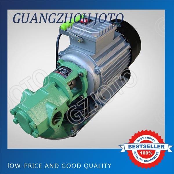 WCB-30 Portable Electric Oil Transfer Pump 220V/380V 30L/Min Oil Pumping Pump wcb 100 cast iron portable electric gear thermal heavy oil pump