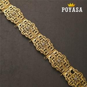Image 2 - จัดส่งฟรีโมร็อกโก Pansy Caftan งานแต่งงาน gold และเข็มขัดโลหะเงินสำหรับสตรี