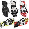 New 2016 GP PLUS Alpine Motorcycle Racing Gloves TOP Leather Motocross Moto Road Race Protection Breathable stars Gloves