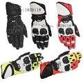 Nuevo 2016 gp plus alpino motociclismo motocross moto guantes de cuero superior carrera de carretera guantes de protección transpirable estrellas
