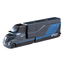 Дисней Pixar Тачки 2 3 игрушки Джексон шторм грузовик Молния Маккуин Круз Рамирез Мак дядюшка 1:55 литая модель автомобиля игрушка детский подарок