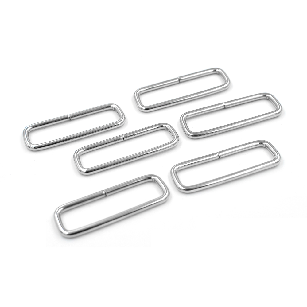 (10 pieces/lot)38mm iron Adjust buckl.Square circle. bag accessories. Metal adjustment buckle. Luggage accessories Strap buck