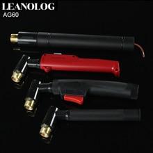 цена на AG60  Plasma Cutter Cutting Torch Gun/Cutting Machine Torch Head/Air Cooled Inverter DC Plasma Cutter Torch/Gun Cutting Electrod