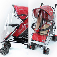 Universal Baby Stroller Pushchairs Cover Baby Carriage Waterproof Dust Rain Snow Proof Cover Windshield Stroller Accessories