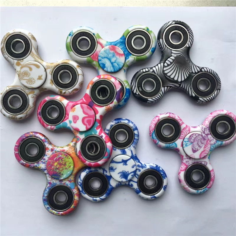 2017 Newest Style Camouflage pattern Hand spinner fidget toy fidget spinners EDC Toy For Autism ADHD