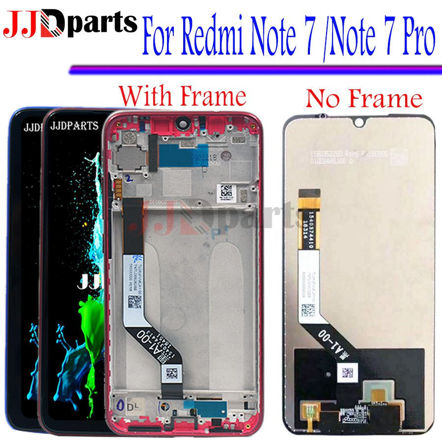 100 test Xiaomi Redmi Note 7 LCD Display Screen Touch DigitizerAssembly redmi note 7 pro lcd
