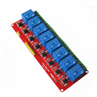 1pcs Lot 5V 8 Channel Relay Module With Optocoupler Isolation Low Level Trigger 5V 8 Road