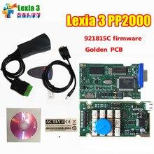 Низкая Цена Lexia 3 PP2000 Lexia3 V48 V25 Diagbox Диагностический Инструмент Лексия-3 Авто Code Reader Сканер Сканер Automotivo V7.83