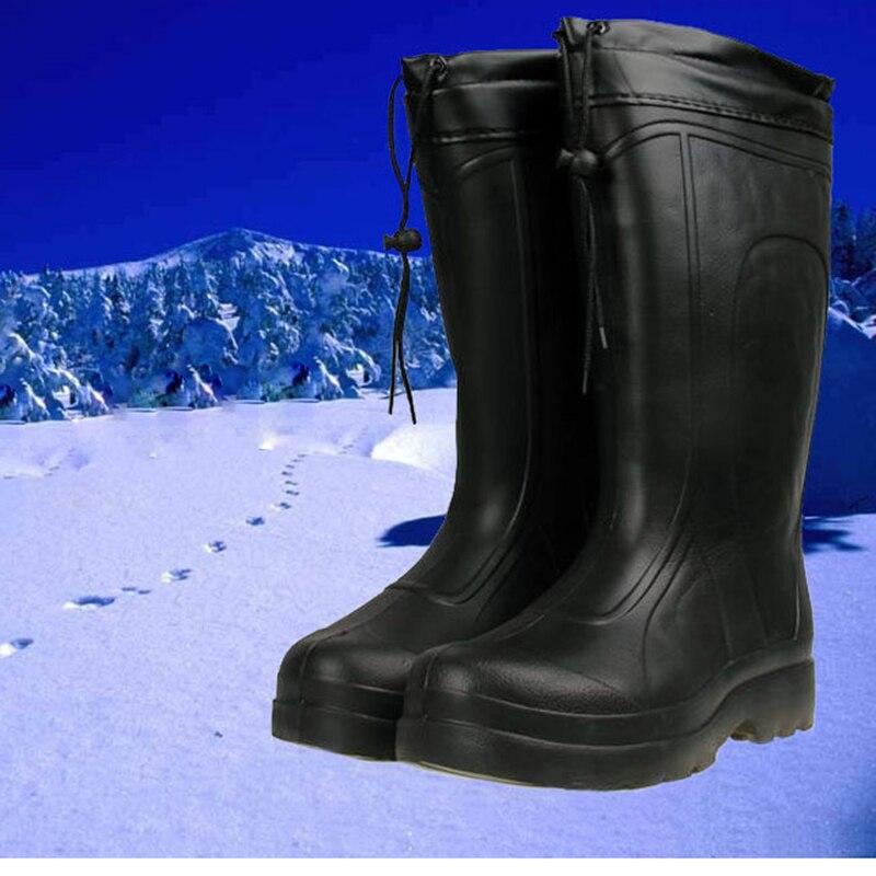 Aliexpress.com : Buy 2017 pvc black winter fishing boots for men ...