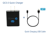 JDB Original QC3 0 Quick Charger Qualcomn Quick Charge 3 0 Travel Home Wall Charger Adapter