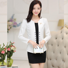 Brieuces Spring and summer womens beaded small suit Slim jacket short shirt fashion long-sleeved