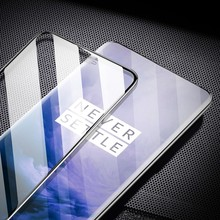 Tempered Film For One Plus 7/One Plus 7 Pro Silk Screen Full Screen Tempered Film screen protector Protective Glass