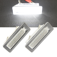 2X Error Free 18SMD License Plate Light For Benz Smart Fortwo W451 2007 2015 Car Led