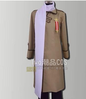 Customized Axis powers APH Hetalia Russia Cosplay Costume Ivan Braginski