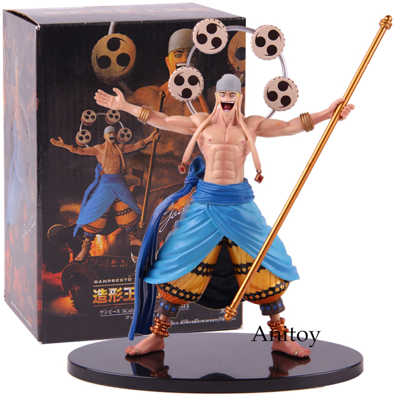 SCultures One Piece Banpresto Figure Colosseum Vol.6 God Enel One Piece Action Figure PVC Collectible Model Toy цены