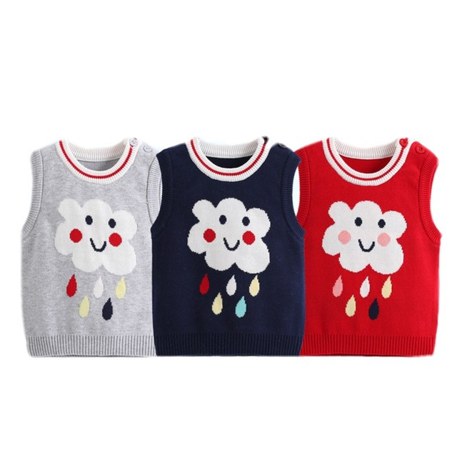 Aliexpresscom Buy Winter Baby Jas Warm Vest Newborn Knited